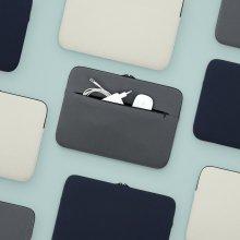 포켓 노트북파우치 (라이트 그레이_11)