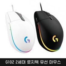 2세대 로지텍 유선 마우스(G102 블랙)