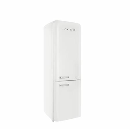[AR체험] 하이마트 설치! 코코일렉 간냉식 영레트로 디자인 냉장고 CAG23WC 230L