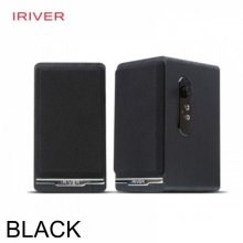 사운드list IRIVER 2ch WOODEN BLOCK 스피커 블랙
