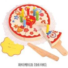 역할놀이 완구시리즈 브알라 원목 파티 케이크