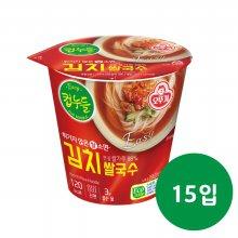 오뚜기 컵누들 김치! 쌀국수 컵 34.8g 15입 1박스