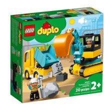 [레고] 듀플로 트럭과 굴착기 10931 [무료배송]