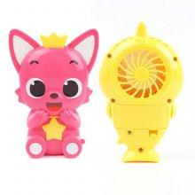 [이지]핑크퐁 아기상어 자동목걸이선풍기(랜덤발송)
