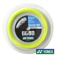 요넥스 BG80-2YL 0.68mm 200m 옐로우 배드민턴롤거트