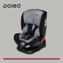 폴레드 올에이지360 신생아 회전형 카시트_갤럭시그레이