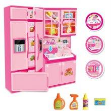 맥킨더 DIY 미니어처 주방 냉장고 역할놀이