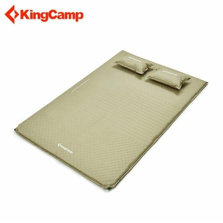 KINGCAMP 컴포트 더블 2 자충매트 베이지 KM3594