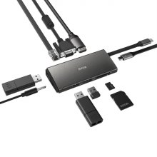 아이노트 FS-CH55P C타입 멀티 포트 USB 허브