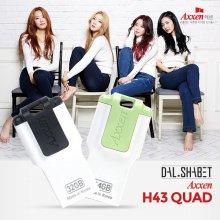 액센 H43 QUAD 8GB USB메모리 그린 (단자노출형)