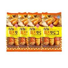 오뚜기 냉동 맛있는 치즈 핫도그 400g 4입