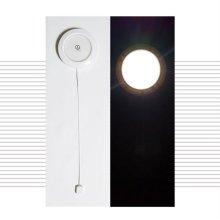 LED 원형푸쉬라이트/4C6E88