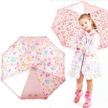 로라앨리 플라워 50우산 7세이상 어린이 자동 장우산