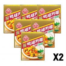오뚜기백세카레 3분 순한맛 200g 12개