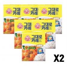 오뚜기그대로카레(순한맛) 200G 12개