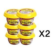 오뚜기 새송이 쇠고기죽(상온) 285g 12개