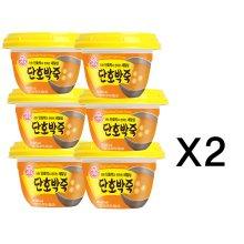 오뚜기 단호박죽(상온) 285g 12개