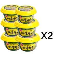 오뚜기 계란야채죽(상온) 285g 12개