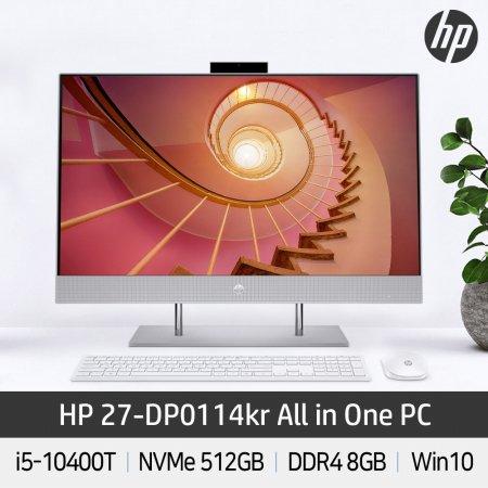 일체형PC 27-DP0114KR i5/8G/512G/WIN10/올인원PC/데스크탑