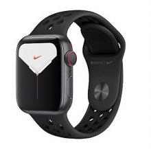 [패키지특가]애플워치5 GPS+셀룰러 40mm [블랙 Nike 스포츠 밴드] MX3D2KH/A + 40mm 로얄 펄스/라바 글로우 Nike 스포츠 루프