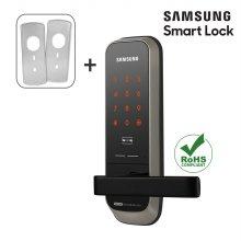 셀프시공 무타공 삼성스마트도어락 SHP-H20+보강판