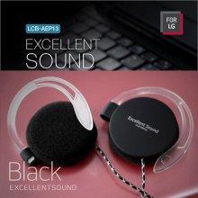 For LG LCB-AEP13 귀걸이형이어폰 블랙