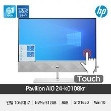 파빌리온 올인원 24-k0108KR i7-10700T/GTX1650