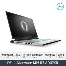 [다운로드 3% 쿠폰] Alienware M15 R3 A007KR[i9-10980HK/32GB/15.6 FHD 300Hz/1TB/RTX2080S/WIN10P]
