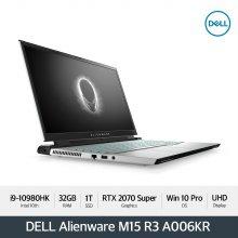 [다운로드 3% 쿠폰] Alienware M15 R3 A006KR [i9-10980HK/32G/15.6 OLED UHD 1TB/RTX2070/WIN10P]