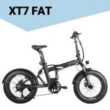 XT7 FAT 전기자전거 모터350W배터리17.5Ah[화이트/듀얼]