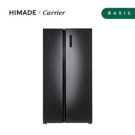 하이메이드X캐리어 양문형 냉장고 HRF-SN614BDR [614L]
