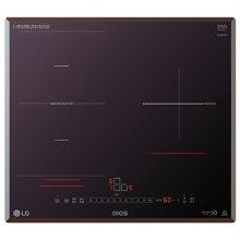 빌트인 인덕션 3구 BEF3MST (미라듀어 글라스, 17종 안전장치, 자동 용기 감지 기능)