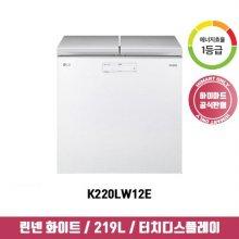 [NEW] 김치냉장고 K220LW12E (219L / 뚜껑형 / 1등급)