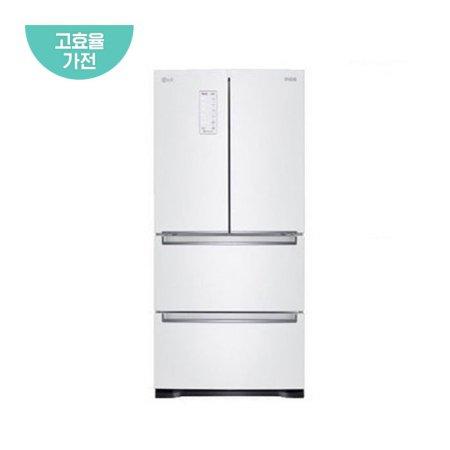 디오스 스탠드형 김치냉장고 K410W14E (402L, 화이트, 1등급)