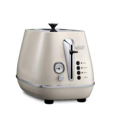 [상급 리퍼상품 단순변심] 디스틴타 토스터 CTI2003.W [화이트 / 2구 / 6단계 굽기조절 / 베이글 가능]''