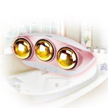 욕실히터 3구 HV-4933 /특수ABS재질