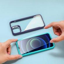 [빅하트세일특가][정식출시 할인특가] ESR 아이폰12/12pro 가이드 풀커버 강화유리 2팩