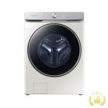 드럼 세탁기 WF24T8500KE (24kg, 심플컨트롤, 버블워시, 무세제통세척, 삶음세탁, AI맞춤세탁, 10년무상보증, 그레이지)