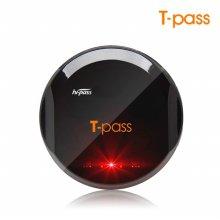 티패스 TL-720S 블랙 무선 하이패스 단말기 태양광충전