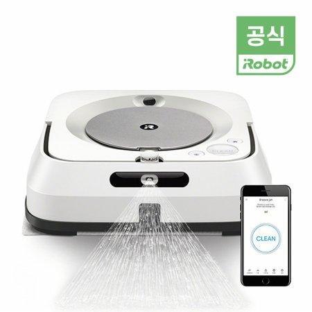 [ 재사용 걸래패드(마른+물) 증정] 브라바젯 M6 물걸레 로봇 청소기 (미세먼지 청소)/포토상품평 이벤트