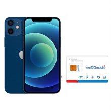 [자급제+유심] [128GB] 아이폰 12 mini [블루] [MGE63KH/A]