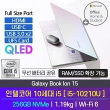 [오피스] 삼성 북이온 NT950XCR-A54M 노트북 인텔 10세대 i5 4GB 256GB 프리도스 15inch(실버)