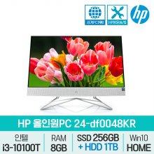 24-df0048KR 올인원 / HDD 1TB 추가장착 / i3 10세대 일체형PC
