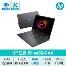 오멘 15-en0041AX (RAM 64GB 교체) RTX2060 게이밍노트북