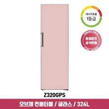 오브제 컨버터블 스탠드형 김치냉장고 Z320GPS (324L, 핑크, 1등급)