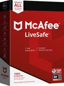 맥아피 라이브세이프 LiveSafe Unlimited Device1년