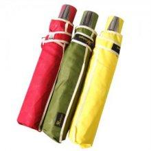 우산 무지 3단 자동 패션우산 작은우산