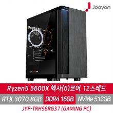 게이밍PC JYF-TRH56RG37 라이젠5 5600X/RTX3070/RAM 16G/SSD 512G/프리도스