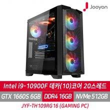게이밍PC JYF-TH109RG16 i9 10900F/GTX1660S/RAM 16G/SSD 512G/프리도스