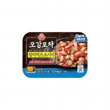오뚜기 오감포차 냉동 칠리치즈소시지 250g 4입